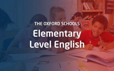 Elementary Level English