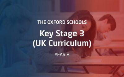 Year 8 – Key Stage 3