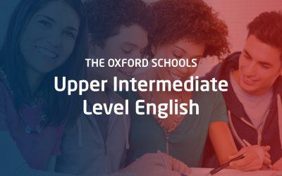 Upper Intermediate Level English